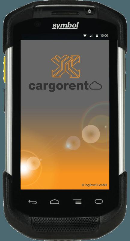 Symbol TC75 cargorent Screen