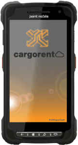 Point Mobile PM80 cargorent Screen