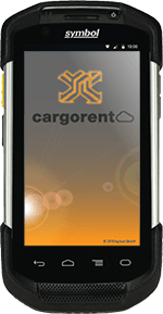 Zebra TC75 cargorent Screen