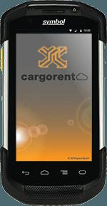 Zebra TC75 cargorent Screen