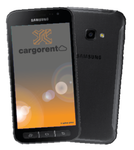 cargorent Smartphone App für Android