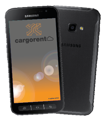 cargorent Smartphone App Android Cloud