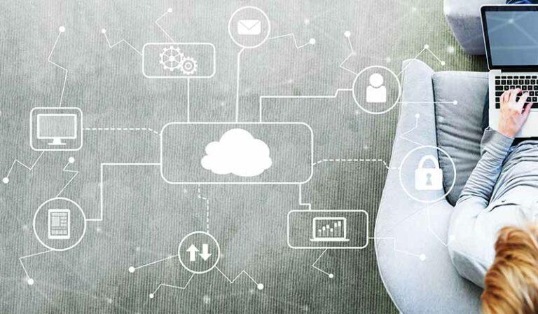Cloud Virtualisierung Homeoffice Lager