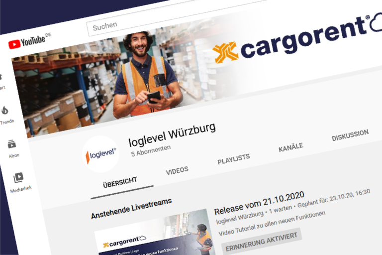 cargornet Lager Live Tutorial YouTube