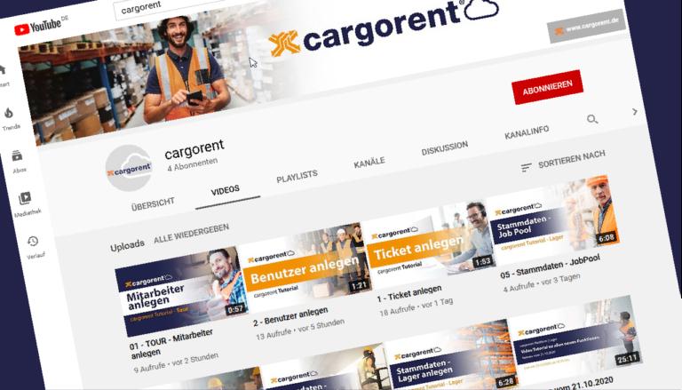 YouTube Kanal Banner cargornet