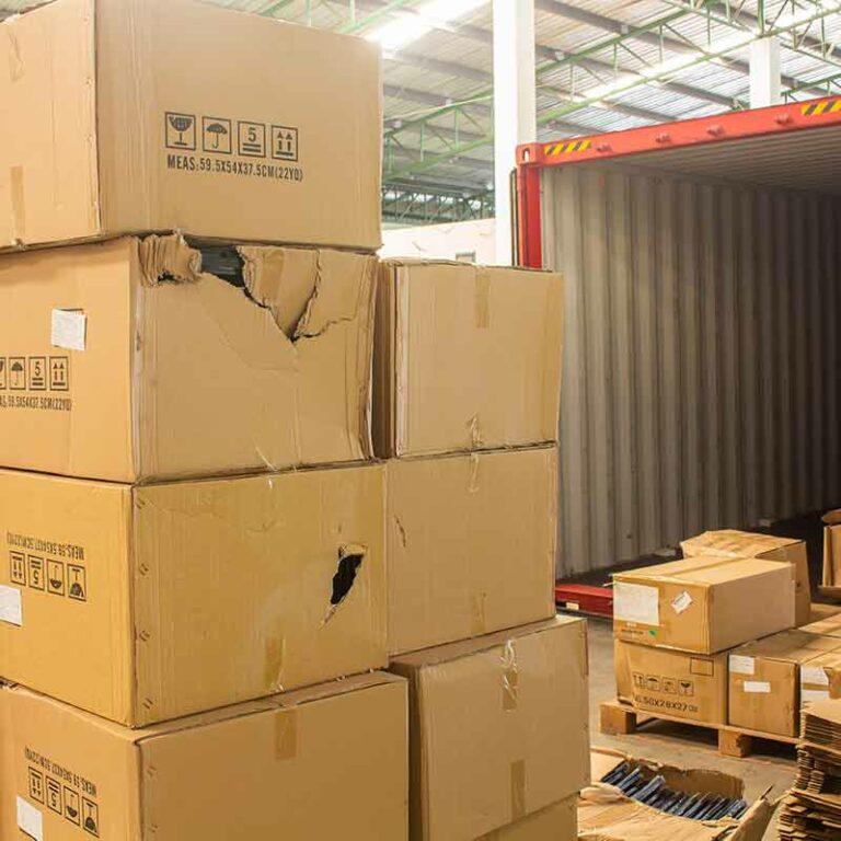 Vorbehalte Beschädigungen Wareneingang Lager